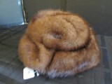 Vintage Ladies Fur Hat Unknown Size/Possibly Link Fur