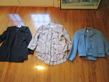 Lot - 3 Ladies Jacket/Dresses, Henry Ike Block Size 12, Rope Pattern, Blue Vinci