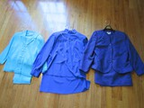 Lot - 3 Ladies Jacket/Dresses, Sam Remo Blue, Purple Henry Lee Petites Size 14