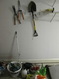 Garden/Tool Lot - Hose Pipes, Pump Spray, Shovels, Hedge Clippers, Trowel