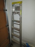 Werner Folding Stepladder Model 366