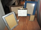 Lot - Misc. Frames Wood, Metal, 1 Picture Frame Design, Etc.