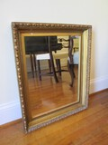 Wall Mounted Mirror in Ornate Gilted Wood Frame/Matt