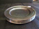 8 IS International Silver Co. 05002A SI Silverplate Hollowware Coasters