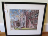 University of Pennsylvania School of Medicine Frank Reily Picture Print
