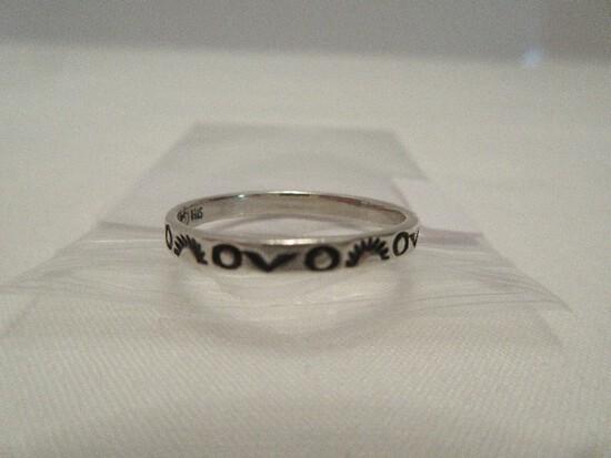 Carolyn Pollack Southwestern Design Sterling Silver Band Ring