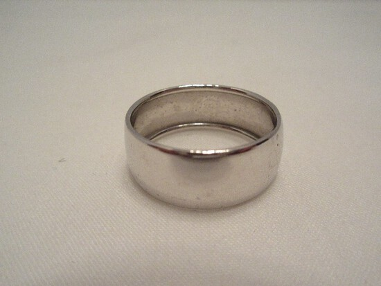 Milor 18k Italy Ring Band w/ Rolled Edge