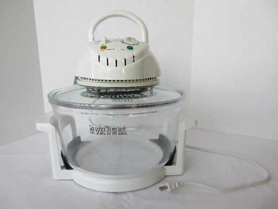 Crofton Convection Oven 3 Gallon Capacity Glass Bowl