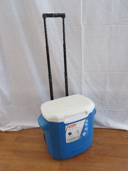 Coleman 16qt 22 Cans Wheeled Cooler w/ Telescoping Handle