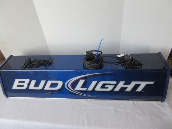 Too Cool Bud Light Billiard Pool Table/Man Cave Hanging Light Fixture © 2010 Anheuser-Busch