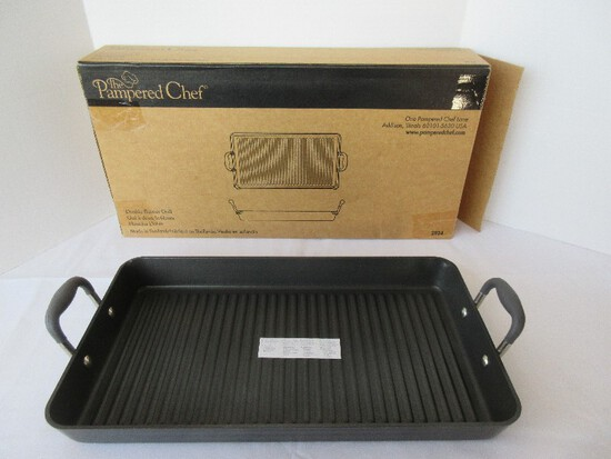 Pampered Chef Double Burner Grill