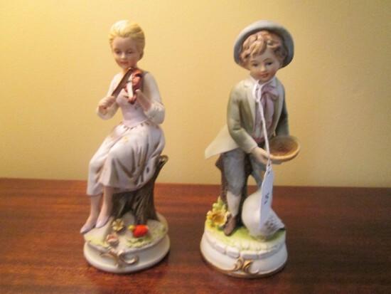 Ardalt Lenwhile China Japan Porcelain Men/Woman Décor Figurines
