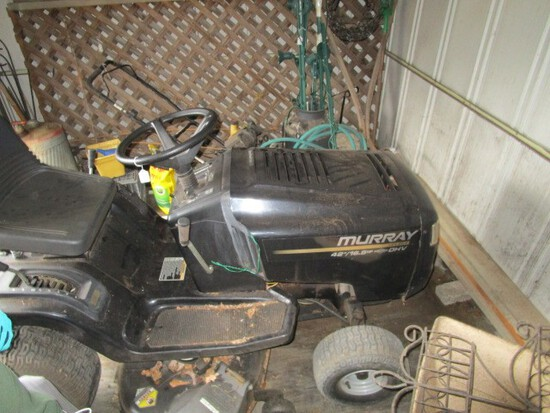 "Murry Select Wide Body Riding Lawn Mower 42"", 16.5HP Briggs & Stratton OHV"