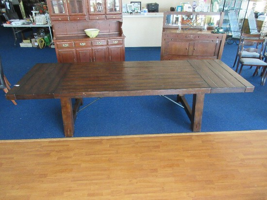 Awesome Pottery Barn Benchwright Collection Extending Dining Table