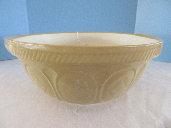 Vintage Grip Stand Mixing Bowl by T.G. Green LTD. Embossed Diamond/Medallion Pattern