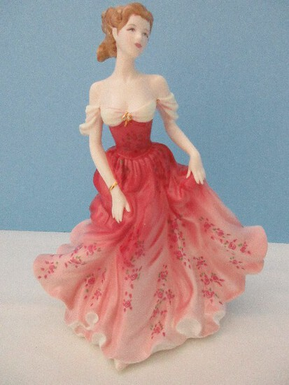 "Royal Doulton Bone China Pretty Ladies Figurine of The Year 2007 ""Stephanie"""