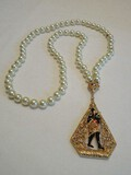 Rare Find Camrose & Kross Jacqueline Kennedy Faux Pearl Necklace