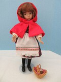 Fine China Edwin M. Knowles Heroines From Fairy Tale Forests of The Brothers Grimm Doll