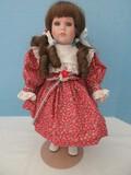Goebel Carol Anne Dolls by Bette Ball Musical Porcelain Doll © 1989