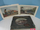 Currier & Ives America Panorama Mid 19th Century Scenes 80 Choice Prints