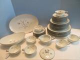 41 Pieces - Noritake China Laverne Pattern 5810 Dinnerware