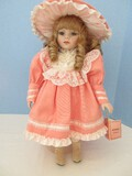 Kingstate The Doll Crafter Fine Bisque Collector Doll