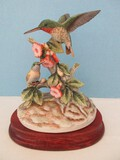 Andrea Fine Porcelain Ruby-Throated Hummingbirds 7