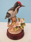 Andrea Fine Porcelain Downy Woodpecker 6