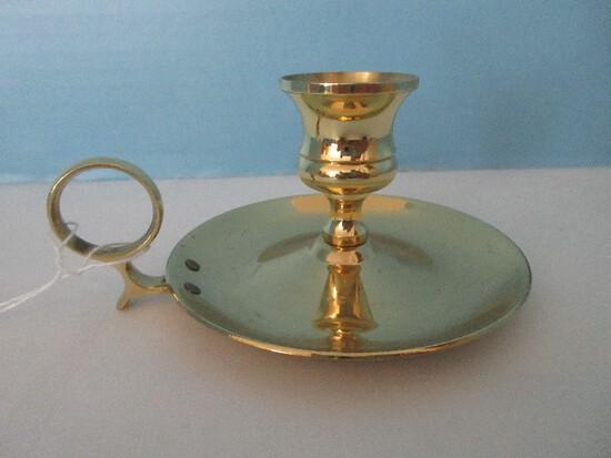 Baldwin Brass Chamber Candle Stick