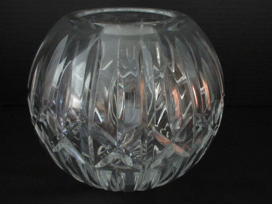 """Waterford Crystal Giftware Collection Large 8"""" Rose Bowl Footed Base"""