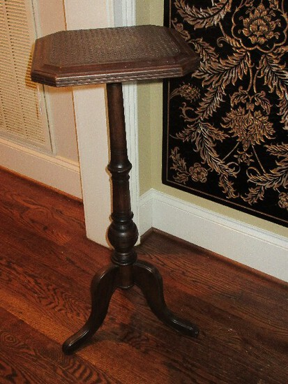 Bombay & Co. Classic Pedestal Plant Stand w/ Cane Top