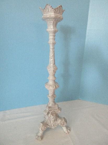 """Vietri Earthenware Incanto Collection 19 1/2"""" Candlestick Holder"""