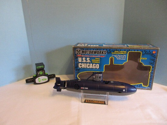 U.S.S. Chicago Radio Control Totally Submersible Submarine by Motor Works