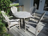 Kingsley Bate Collection Outdoor Furniture Teak Patio Round 42