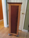Custom Made Transitional Modern Plant/Display Stand 2 Tone Stain Finish