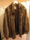 Bermans Dyed Rabbit Fur Ladies Jacket