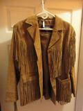 Leather Gallery Leather Fringe Western Jacket