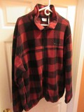 Columbia Sportswear Co. Red Buffalo Plaid Men's Jacket