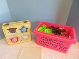 Wow! Cookie Cutters Lot - Williams-Sonoma Ice Cream Sandwich Molds, Gingerbread Man
