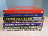 6 Guinness Books of World Records 1998 Thur 2003 & Top 10 of Everything 2000