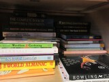 Lot - Misc. Hard/Paperback Books Bowling, Horses, Self Help, Love of Dogs, Etc.