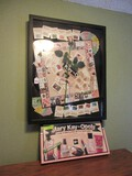 Mary Kay-Opoly Game Celebrating 50th Anniversary in Shadow Box Frame w/ Original Box