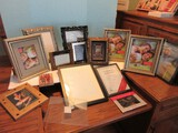 Lot - Misc. Decorative Picture Frames, Various Sizes/Styles