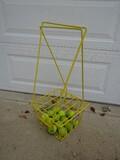 Tennis Ball Pickup Basket