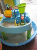 Kids Wading Pool w/ Sand Step 2 Outdoor Activity Play Station, Buckets, Toys, Etc.