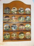 Bradford Exchange Collector Porcelain 16 Miniature Plates Legends of Baseball Complete Set