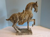 Resin Chinese Ming Dynasty Style Horse 16