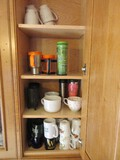 Lot - Misc. Coffee Cups, 2 Royal Norfolk Soup Mugs, 2 Mini Footed Cups, Etc.