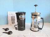 Lot - Mr. Coffee Precision Coffee Mill & French Press Coffee Maker