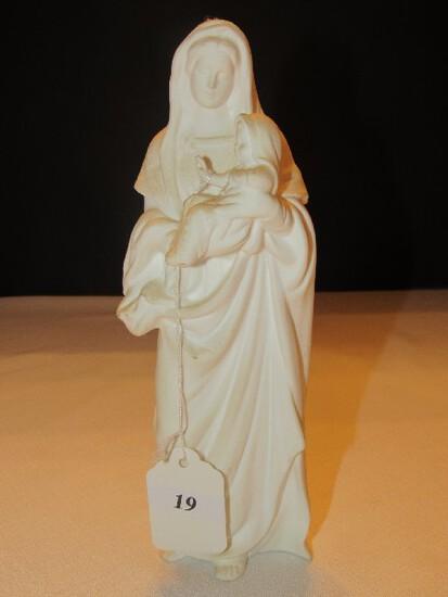 Madonna & Child Lenox Porcelain Statuette